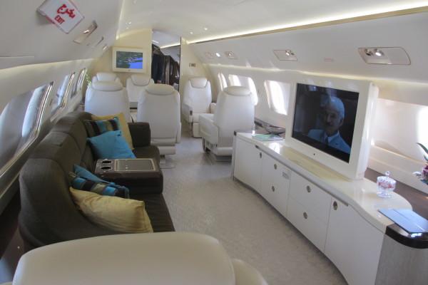 jet privado de lujo