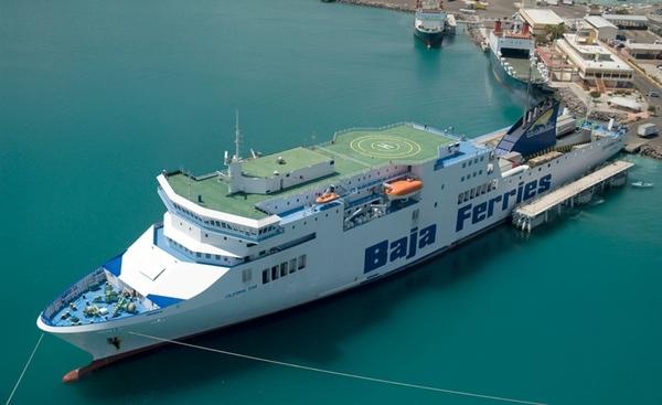 Baja Ferries anade transbordador a ruta en Mar de Cortes