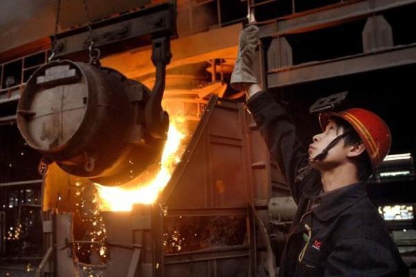 China produce metal