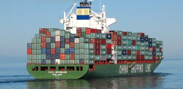 Cifra de buques con perdida total de contenedores esta en descenso
