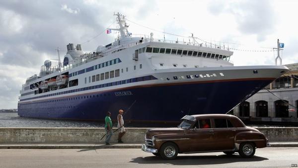 Cuba permitira que ciudadanos cubanos lleguen en crucero