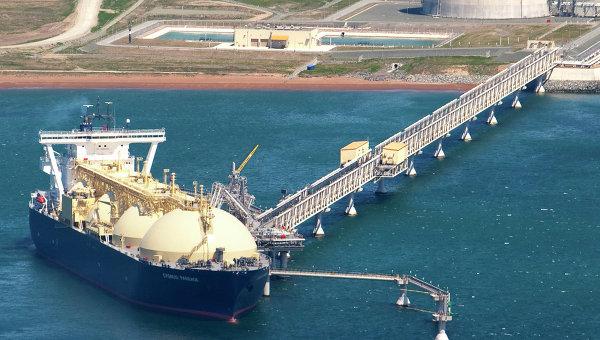 Exportación de gas