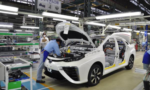 Fábrica Toyota en Japón