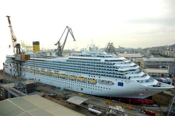 Fincantieri construira cinco buques para Carnival
