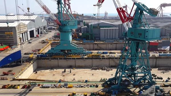 HHI podria construir buques para IRISL