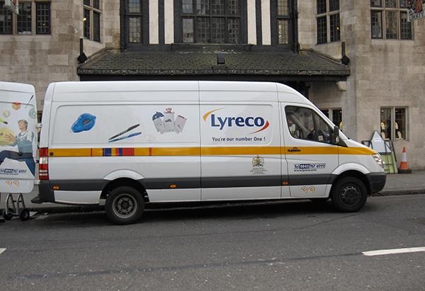 Lyreco-furgoneta