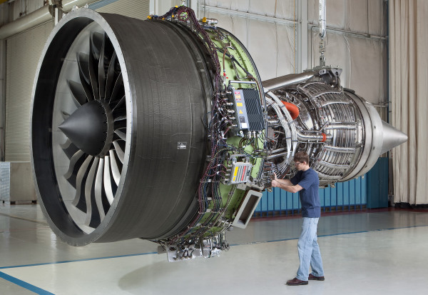 Motor Boeing de General Electric