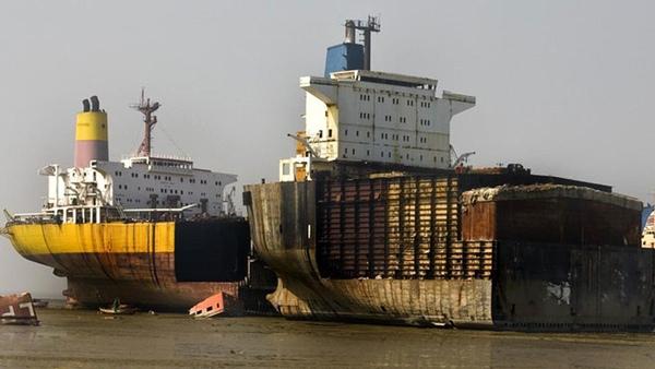 Nivel de desguace de buques esta en aumento