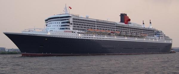 Puertos niegan entrada a Queen Mary 2 por norovirus