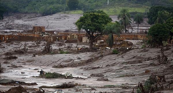 Samarco sigue contaminando Minas Gerais