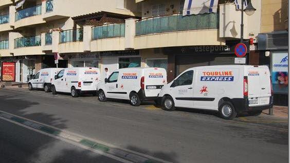 Tourline express de reparto