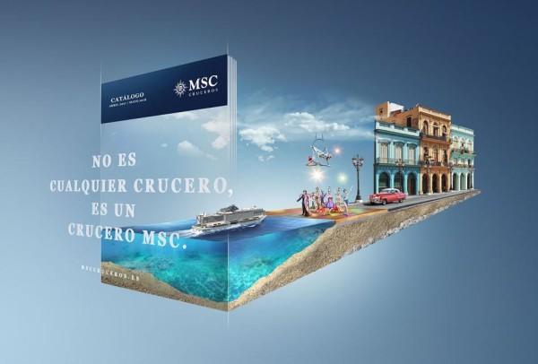 catálogo online MSC Cruceros