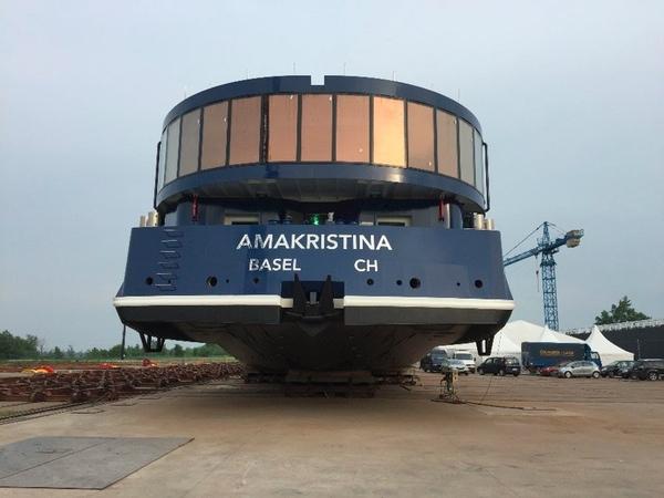 AmaWaterways presenta su nuevo buque