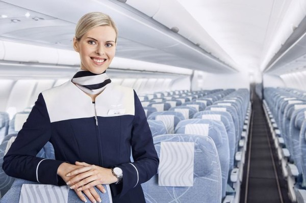Azafata Finnair