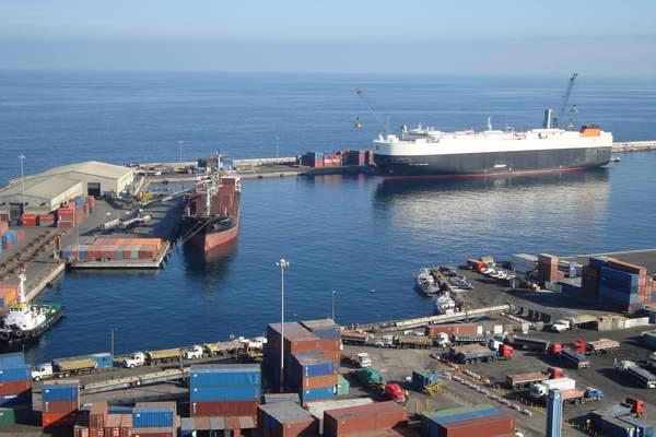 Comision del Corredor Bioceanico visita puertos chilenos