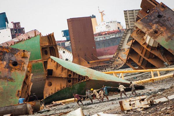 Desguace de buques puede reducir sobreoferta