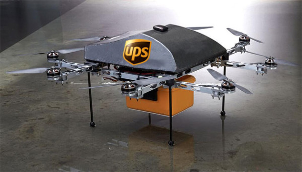 Dron empresa UPS