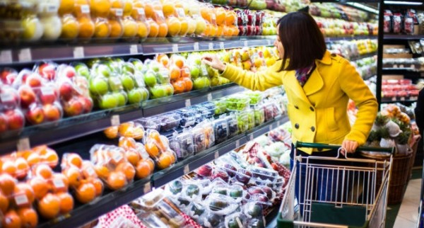 Exportaciones chinas de alimentos