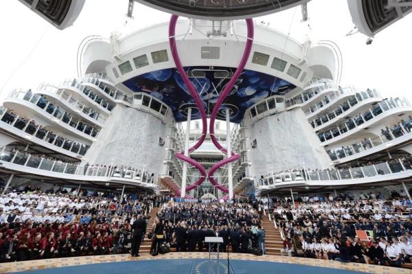 Fiesta tripulación Harmony of the Seas