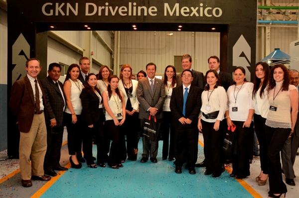 GKN Driveline abre nuevas instalaciones en Mexico
