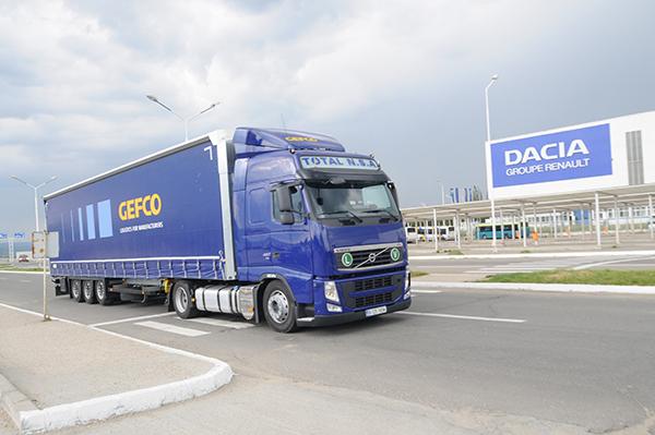 Gefco-camion
