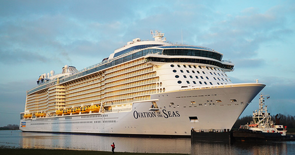 Ovation of the Seas tendra segunda temporada en Sidney