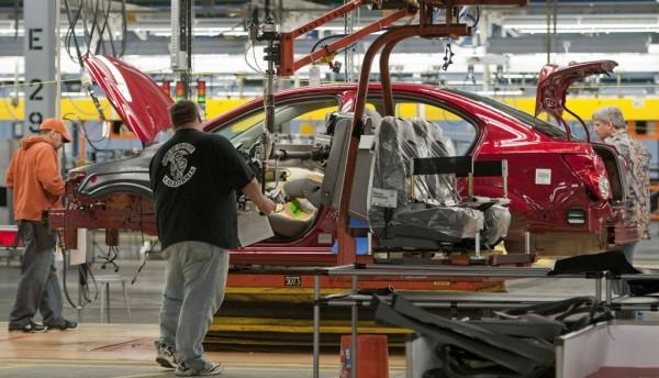Producción fábrica de Estados Unidos