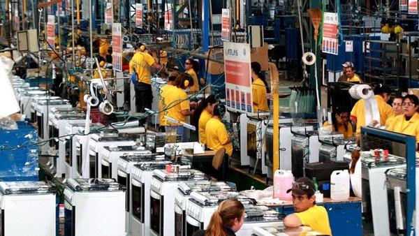 Produccion industrial de Brasil esta en crecimiento