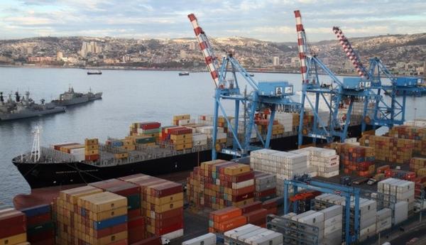 Puerto Valparaiso reactiva servicio ferroviario de exportacion