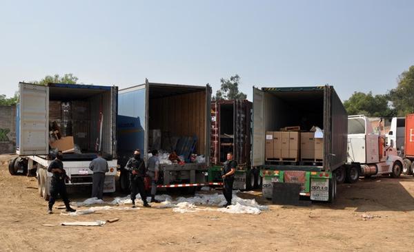 Robos de carga siguen en aumento en Mexico