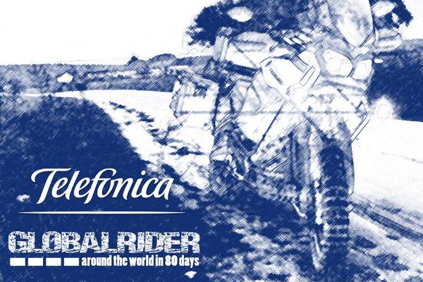 Telefónica impulsa Globalrider, primera vuelta al mundo en moto conectada