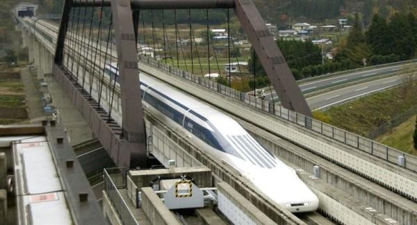 tren magnético de alta velocidad