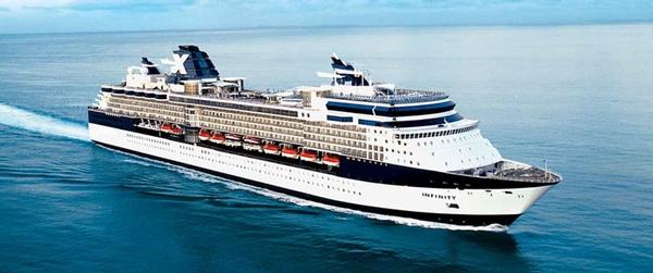 Buque de Celebrity Cruises sufre accidente