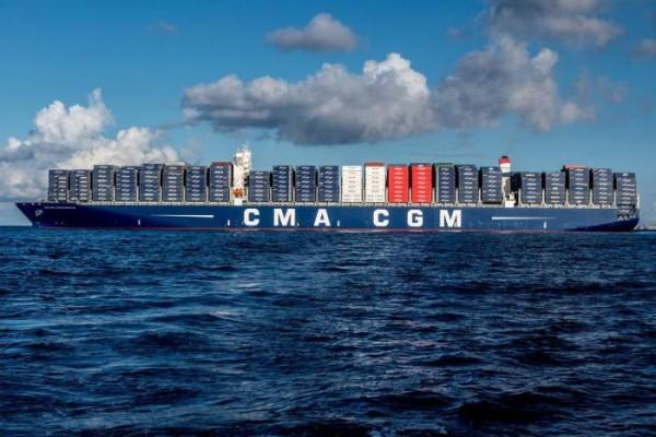 CMA-CGM navegando