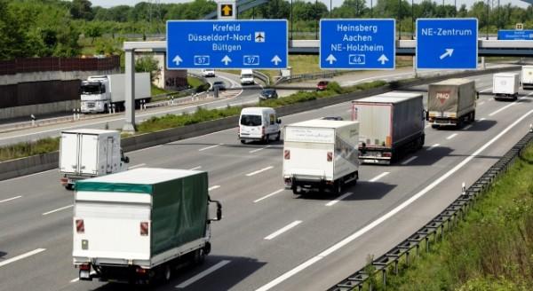 Circulación de camiones