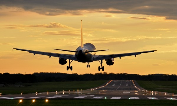 Contaminación en aeropuertos