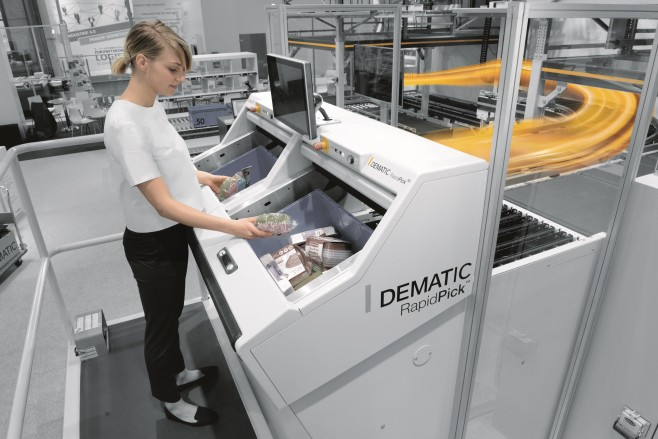 Dematic RapidPick System Spain