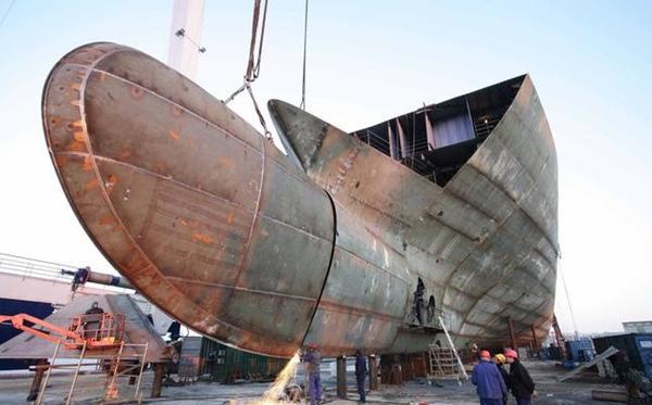Fincantieri comienza construccion del Seabourn Ovation
