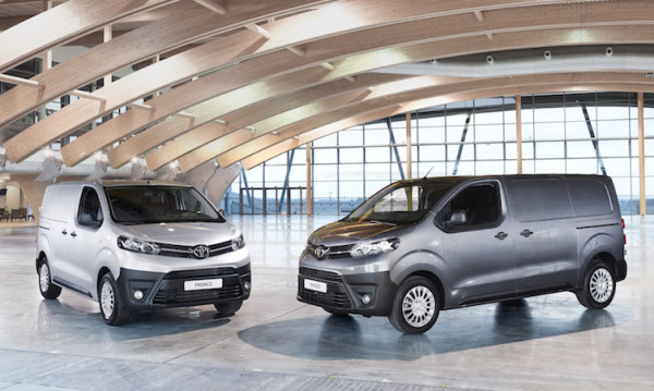 Nuevo Toyota Proace van