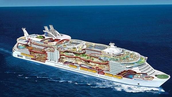 Numero de pasajeros en crucero sigue aumentando