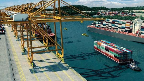 Panama avanza en el proyecto de puerto de Corozal