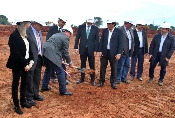 Paraguay inicia construccion de centro logistico