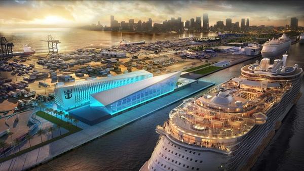 Royal Caribbean Cruises tendra nueva terminal en Miami