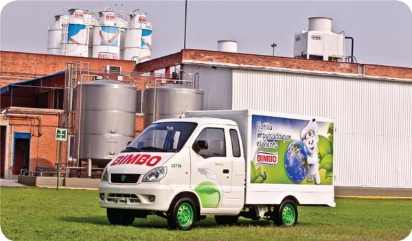 Subsidiaria de Bimbo vende camionetas electricas en Mexico