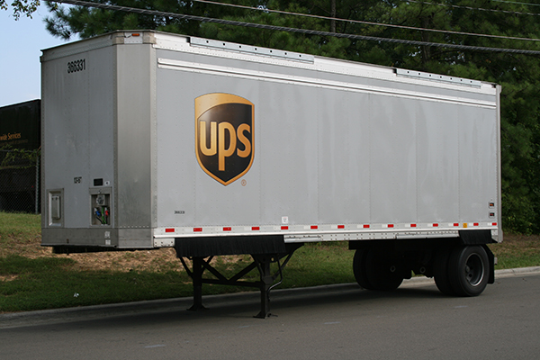 UPS-camion