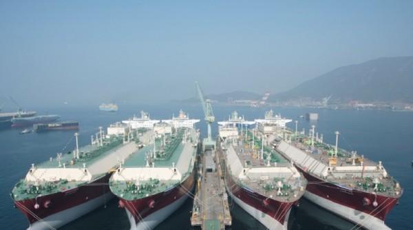 astillero-hyundai-Corea del sur