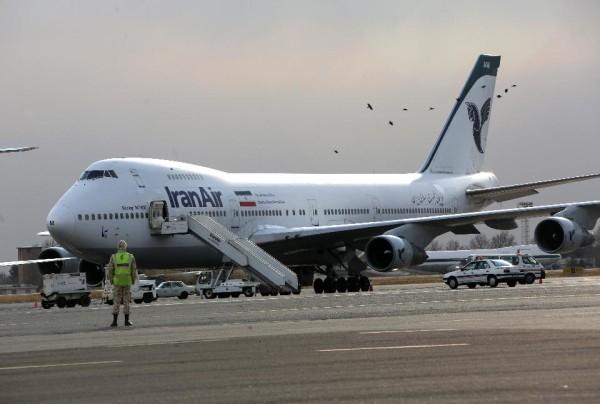 avión de Iran air