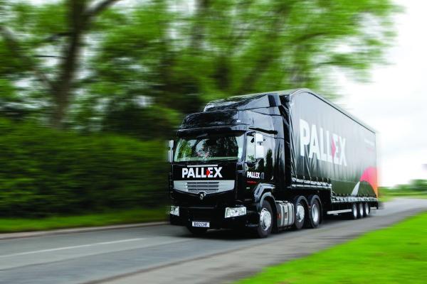 camión de Pall-Ex