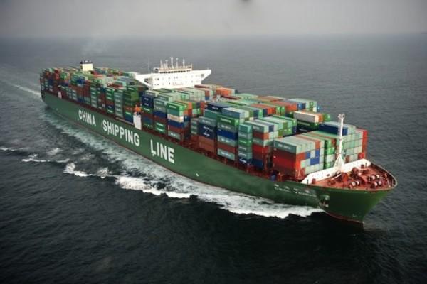 china shipping por el mediterráneo