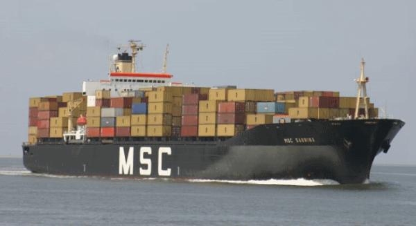 Naviera msc incorpora el motor marino m s potente de man for Motor cargo freight company